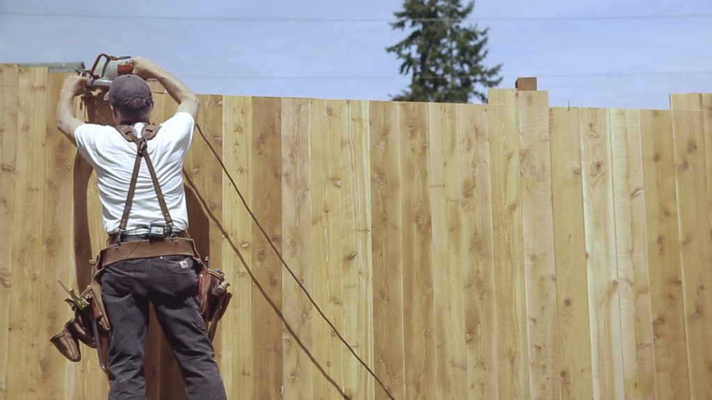 Cedar wood Fence Montgomery