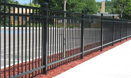 Steel & Aluminum Fences Installation Montgomery