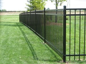 Ornamental Aluminum And Steel Fencing Installation Montgomery